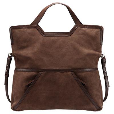 Avery Peak Suede Tote Bag