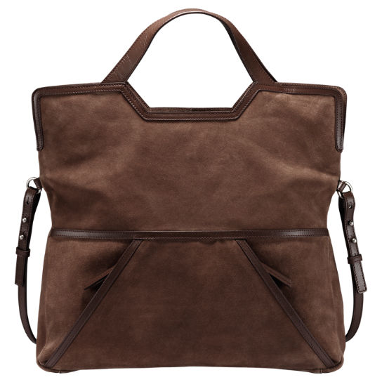 Avery Peak Suede Tote Bag