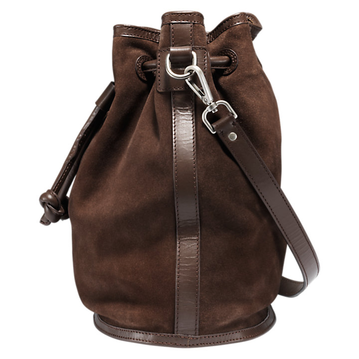 Avery Peak Suede Bucket Bag-