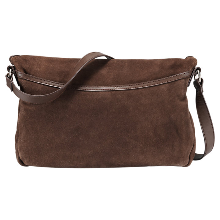 Avery Peak Suede Handbag-