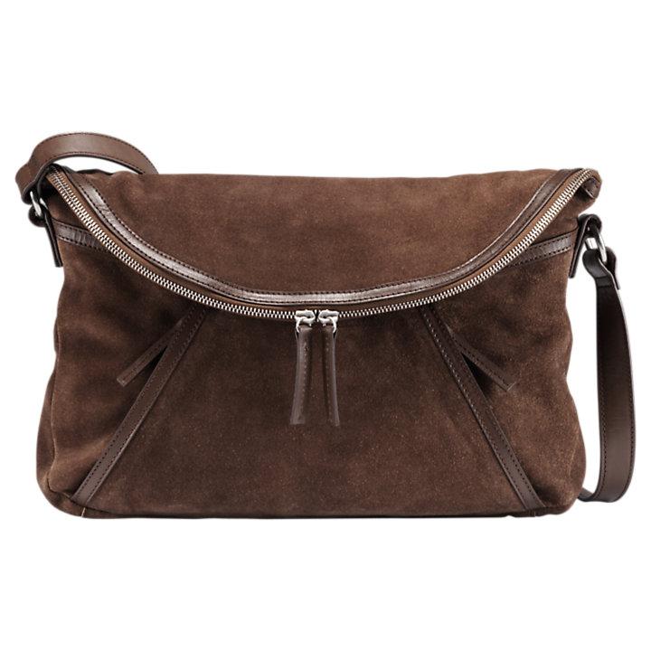 Avery Peak Suede Handbag-