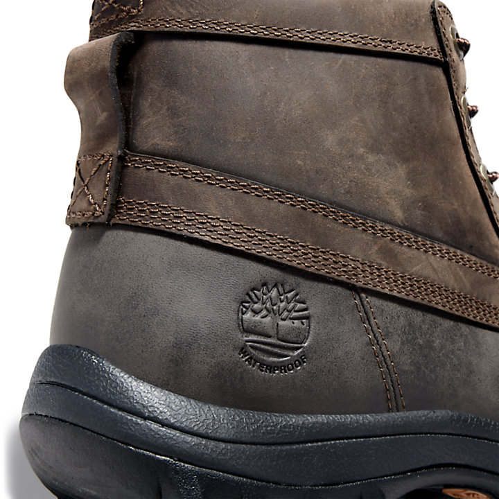 Men's Canard Mid Waterproof Leather Boots-