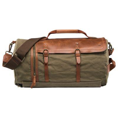 Nantasket Waxed Canvas Duffle Bag