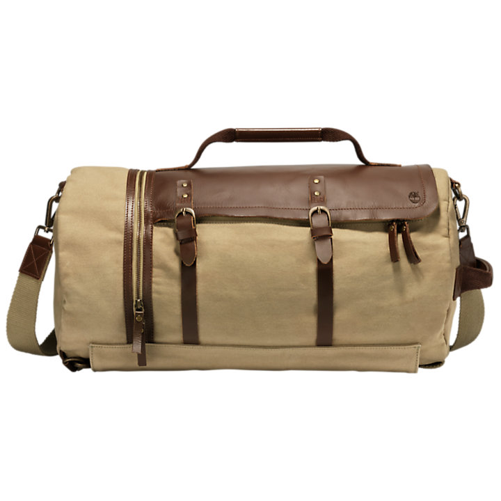 Nantasket Waxed Canvas Duffle Bag-