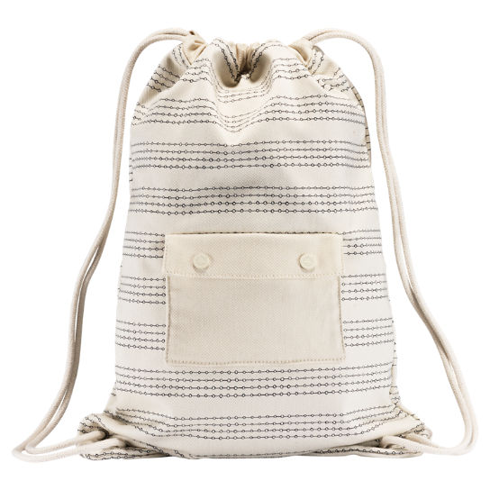Illustrator Water-Resistant Canvas Cinch Sack