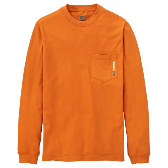 Men's Timberland PRO® Long Sleeve Base Plate Wicking T-Shirt