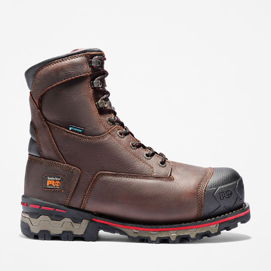 "Men's Timberland PRO® Boondock 8"" Comp Toe Work Boots"