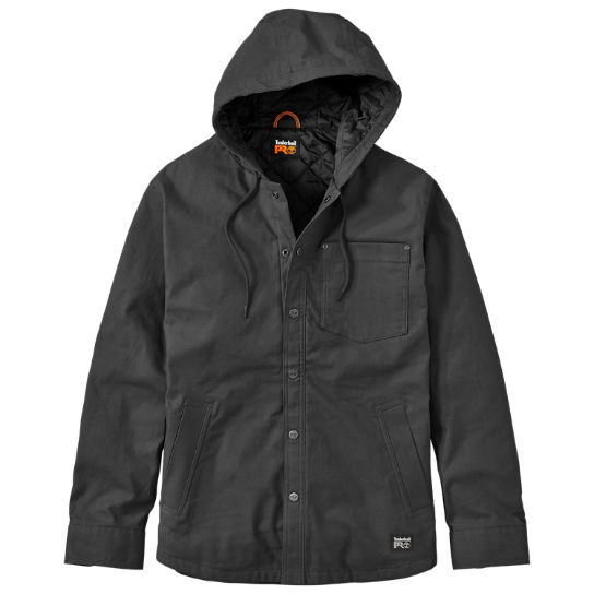 Men's Timberland PRO® Gridflex Insulated Hooded Shirt Jacket