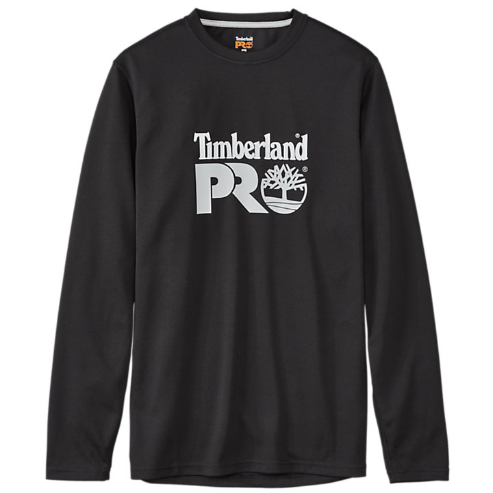 Men's Timberland PRO® Wicking Good Long Sleeve Front Logo T-Shirt-
