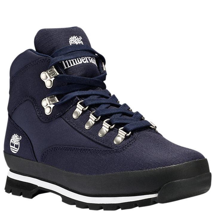 Men's Euro Hiker Canvas Boots-