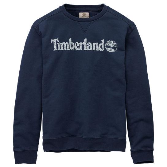 Timberland Crew Sweatshirt Sweat-Shirts for Men Blue