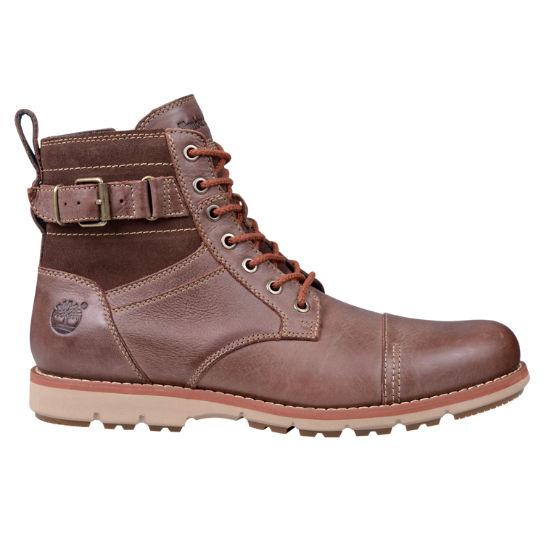 Men's Brewstah Side Zip Leather Boots