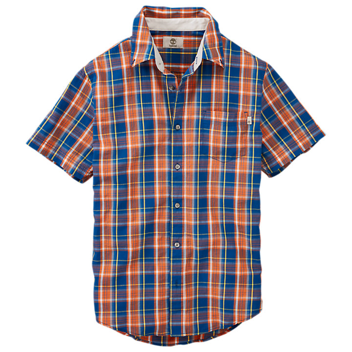 Men's Perry Stream Textured Check Shirt-