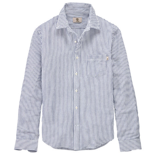Men's Gale River Slim Fit Striped Shirt