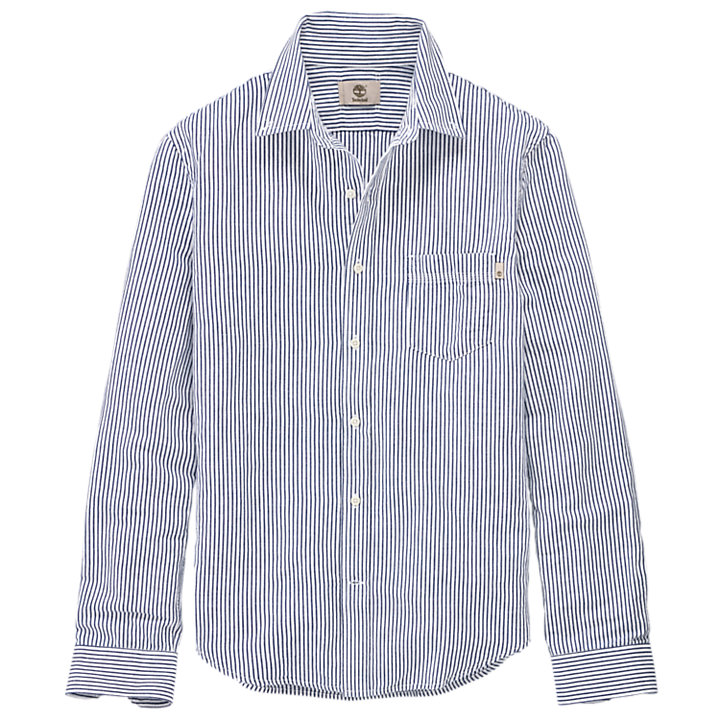 Men's Gale River Slim Fit Striped Shirt-
