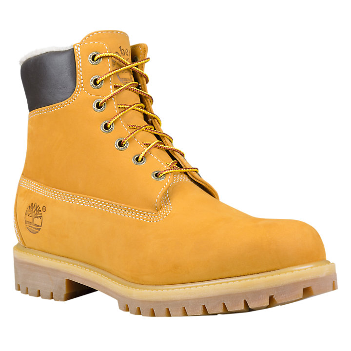 Men's Timberland® Heritage Warm Lined Waterproof Boots-