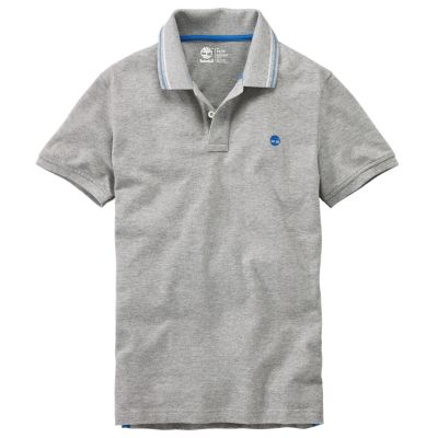 TIMBERLAND Timberland Slim Millers River Polo Men/'s A1BB4 Blue
