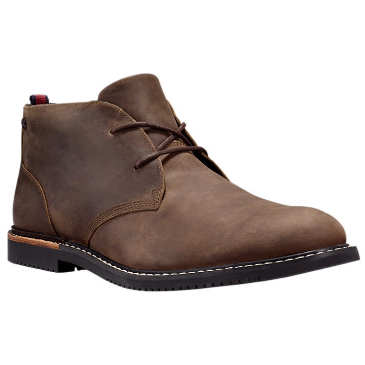 Men's Brook Park Leather Chukka Shoes-