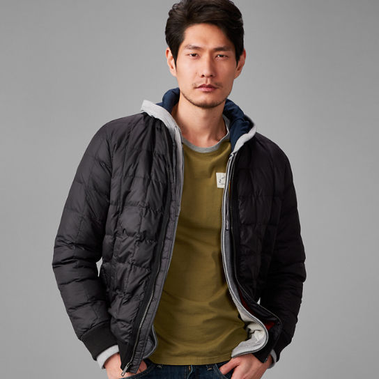 Men's Skye Peak Quilted Bomber Jacket