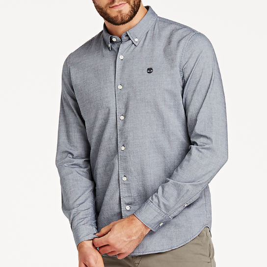 Men's Rattle River Slim Fit Oxford Shirt