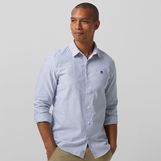 Men's Rattle River Slim Fit Oxford Striped Shirt