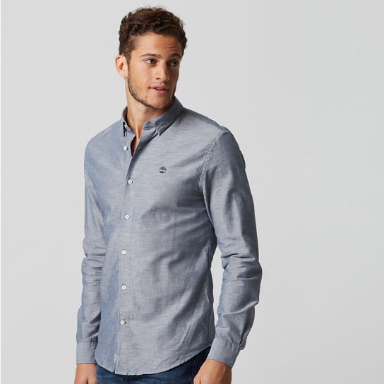 Men's Rattle River Slim Fit Chambray Shirt