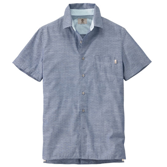 Men's Allendale River Slim Fit Chambray Shirt