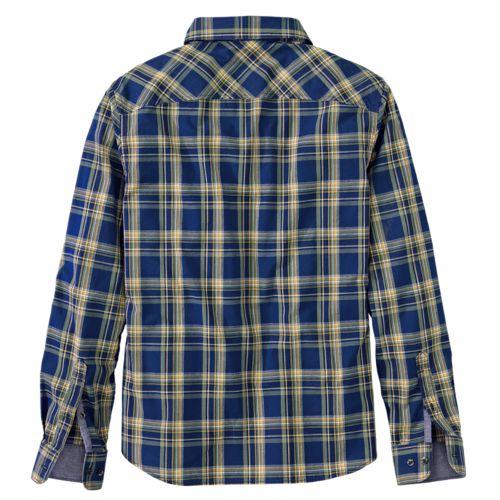 Men's Allendale River Slim Fit Plaid Poplin Shirt-