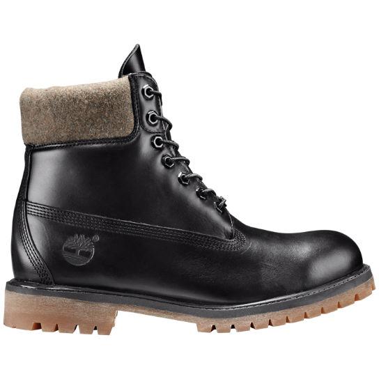 Timberland Mens Dark Olive Premium 6 Inch Waterproof Boots