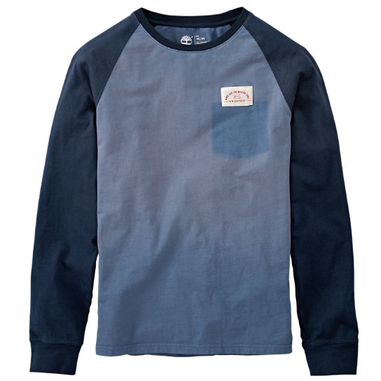 Men's Kennebec River Raglan T-Shirt