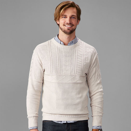 Men's Millers River Crew Neck Sweater