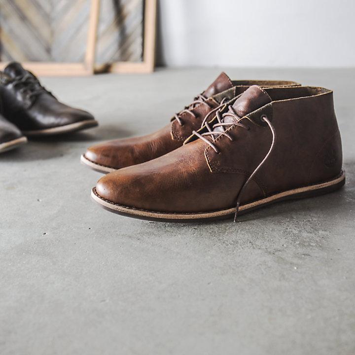 Men's Revenia Plain Toe Chukka Shoes-