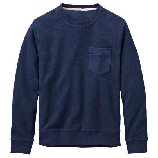 Men's Waits River Slim Fit Crew Neck Sweatshirt