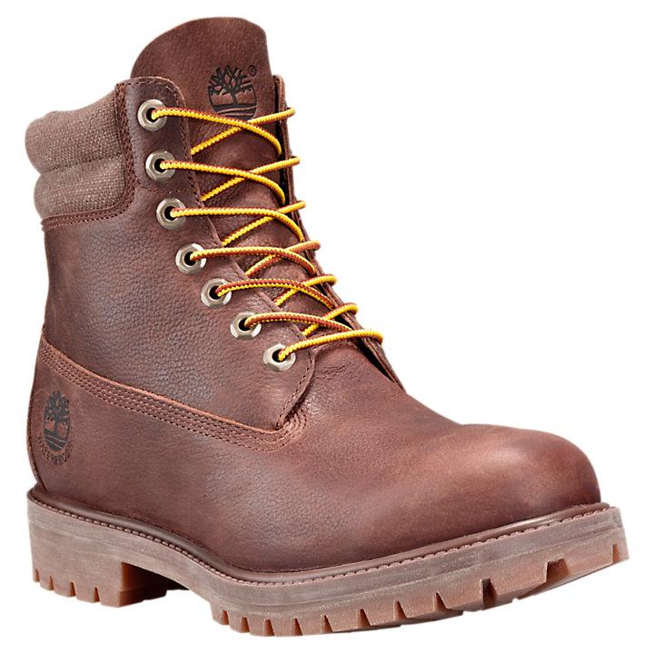 Men's 6 Inch Double Collar Waterproof Boots