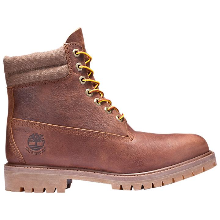 Double Inch Collar Men's 6 Boots Waterproof EYWIDH29