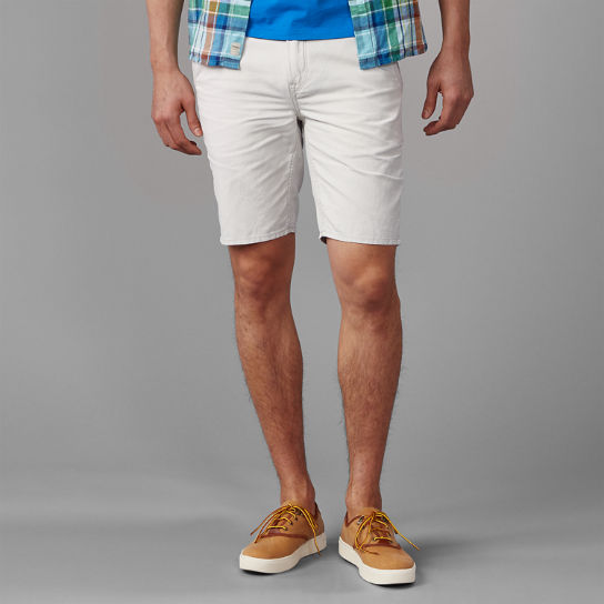 Men's Squam Lake Straight Fit Linen Chino Short
