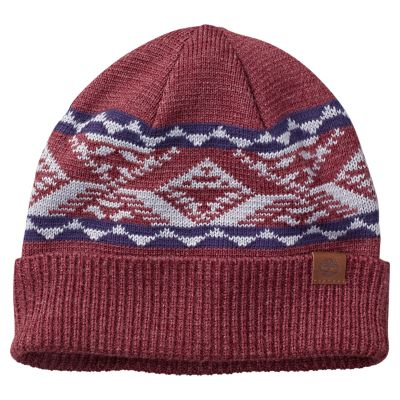 Cuffed Patterned Beanie