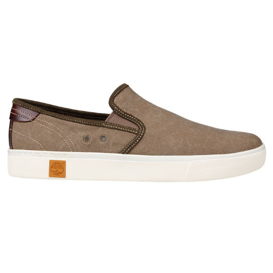 Men's Amherst Canvas Slip On Shoes