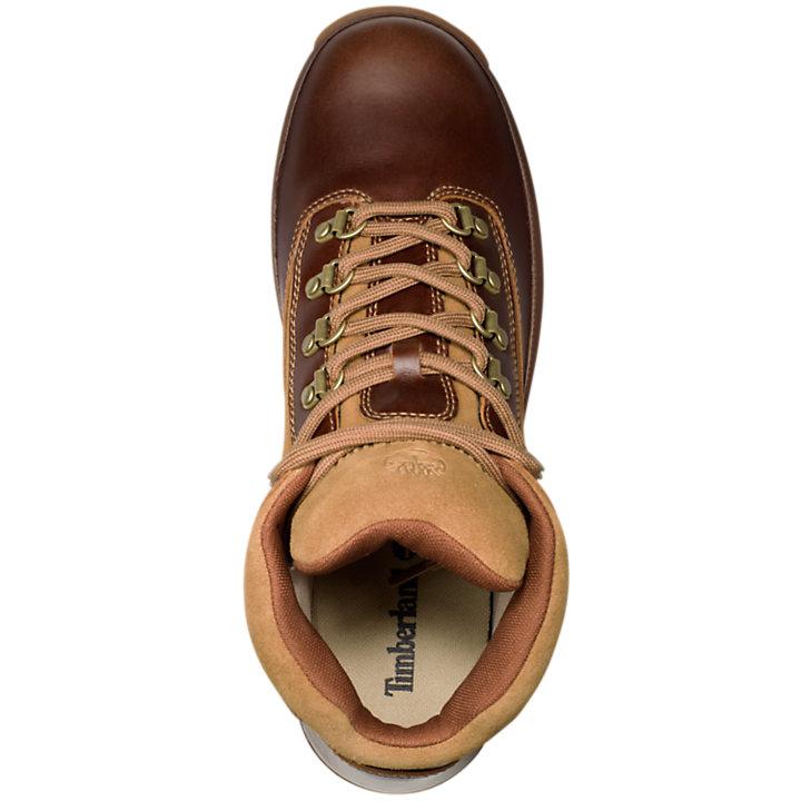 Men's Waterproof Leather Euro Hiker Boots-