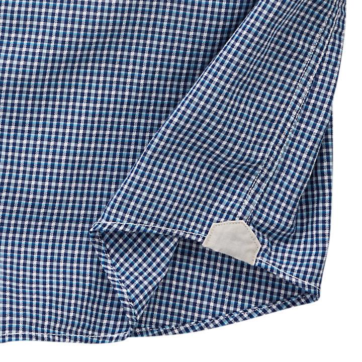 Men's Perry Stream Slim Fit Mini Check Shirt-