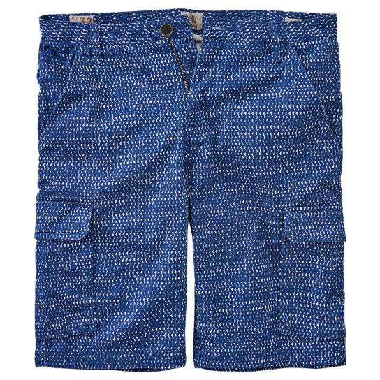 Men's Webster Lake Print Cargo Short