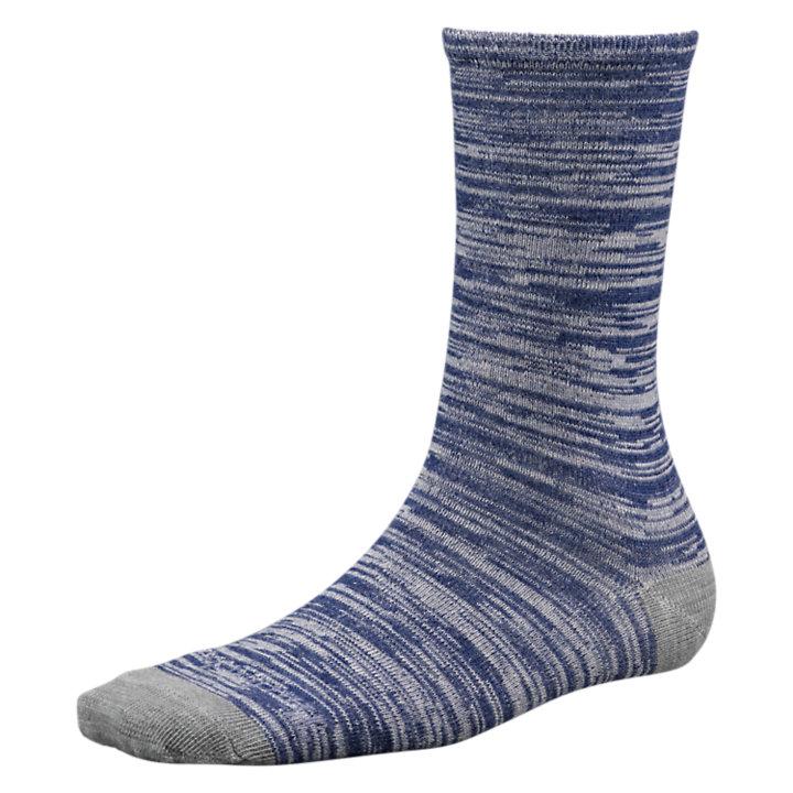 Women's Space-Dyed Wool Crew Socks-