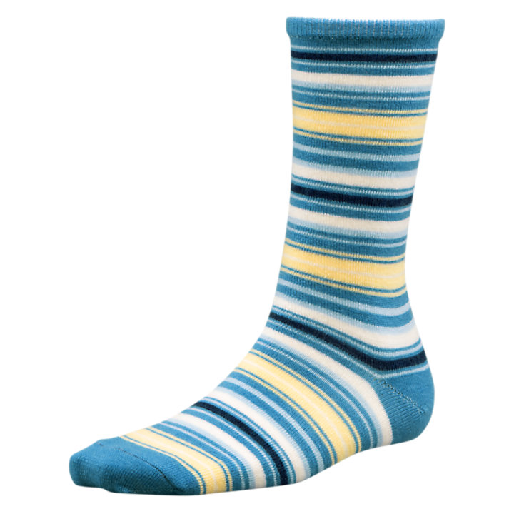 Women's Striped Wool Socks-