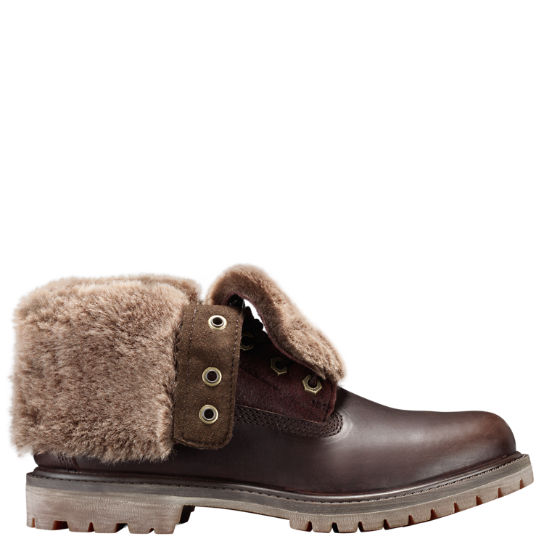 Women's Timberland Authentics Shearling Fold-Down Boots