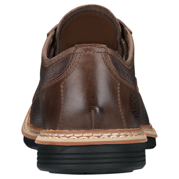 Men's Naples Trail Textured Leather Oxford Shoes-