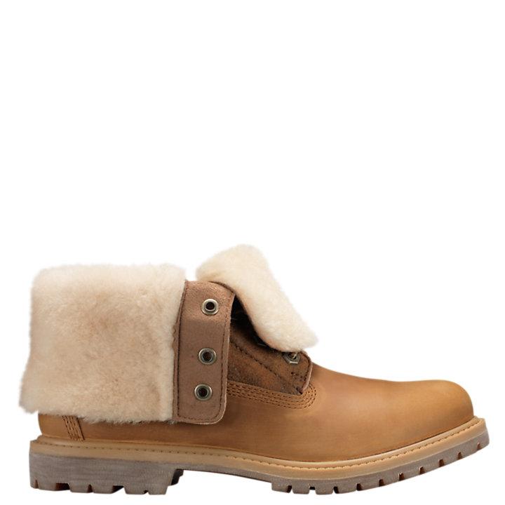 a8fbb7a62d5da Women's Timberland Authentics Shearling Fold-Down Boots   Timberland ...