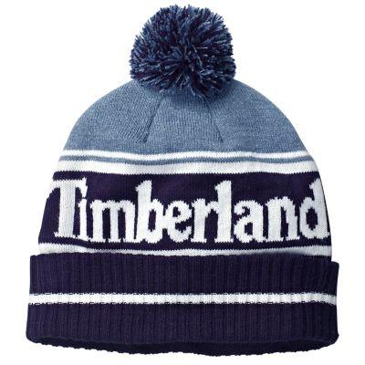 Color Block Logo Winter Hat