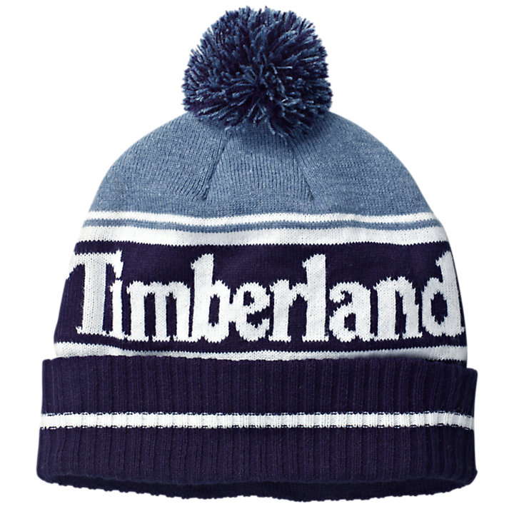 Color Block Logo Winter Hat-