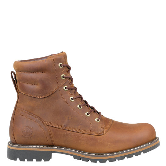 Men's Chestnut Ridge Waterproof Plain-Toe Boots