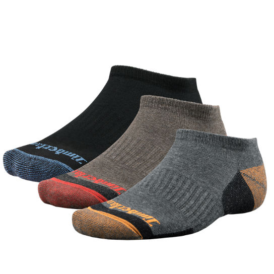 Men's Casual No-Show Socks (3-Pack)